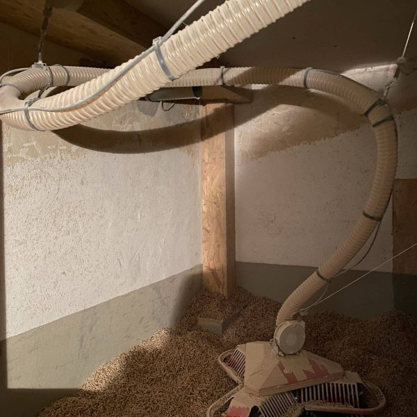 Heizungsbau, Installation einer ETA Pelletheizung und Vaillant Solarspeicher auroSTOR in Taunusstein 01